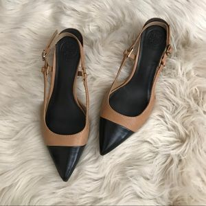 Tory Burch slingback pumps!!